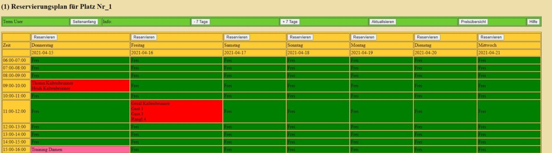 """Neues Online-Reservierungssystem """"Tensoft24"""""""